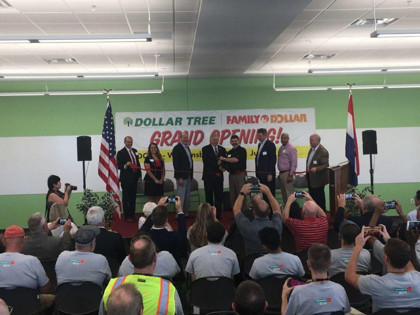 Dollar Tree S 1 Million Square Foot Distribution Facility Begins